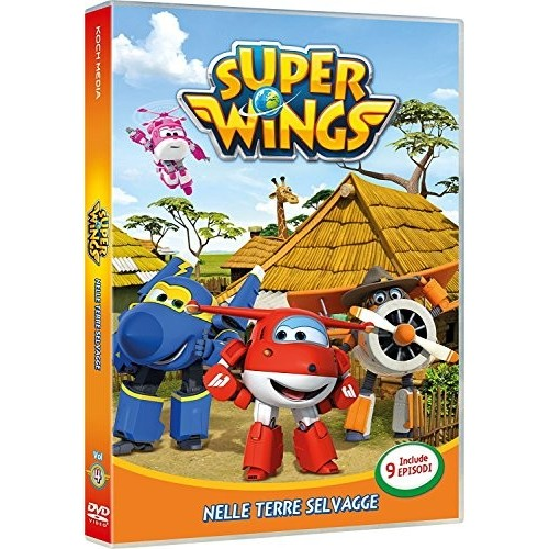 Film Super Wings - Nelle Terre Selvagge in DVD