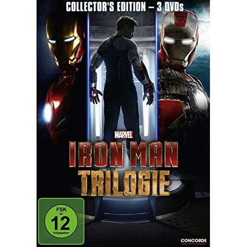 DVD Trilogia Iron Man - Marvel Studios