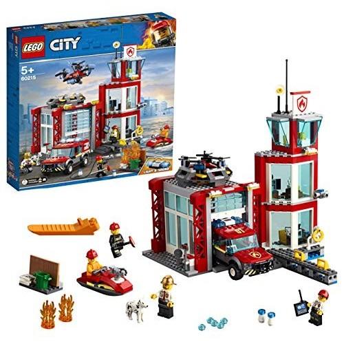 Modellino LEGO City Fire Caserma dei Pompieri