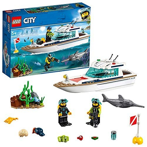 Gioco LEGO City - Yacht per immersioni