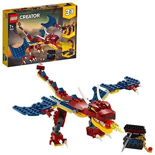 Gioco LEGO Creator 3 in 1 drago, tigre e scorpione