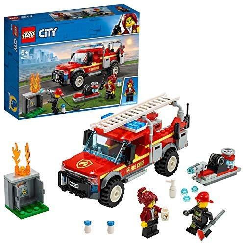 Gioco LEGO City Town Fuoristrada dei Vigili del Fuoco
