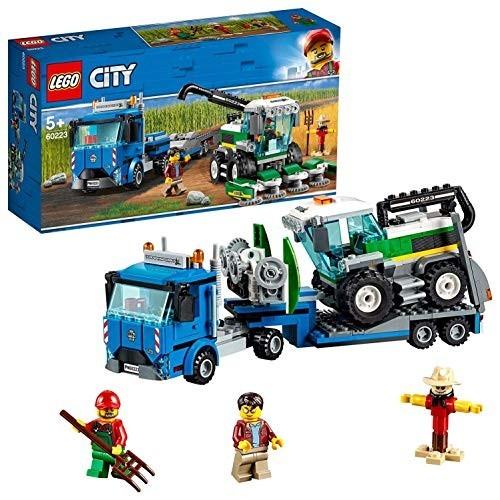 Gioco LEGO City Trasportatore di mietitrebbia con 2 personaggi