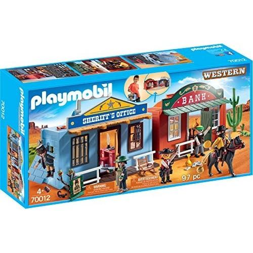 Giocattolo Villaggio Western portatile - Playmobil