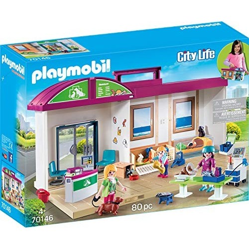 Modellino Clinica Veterinaria - Playmobil City Life