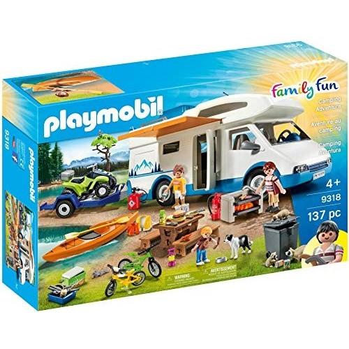 Giocattolo Camper con Quad e Canoa - Playmobil Family Fun