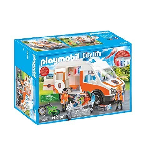 Giocattolo Playmobil City Life modellino Ambulanza