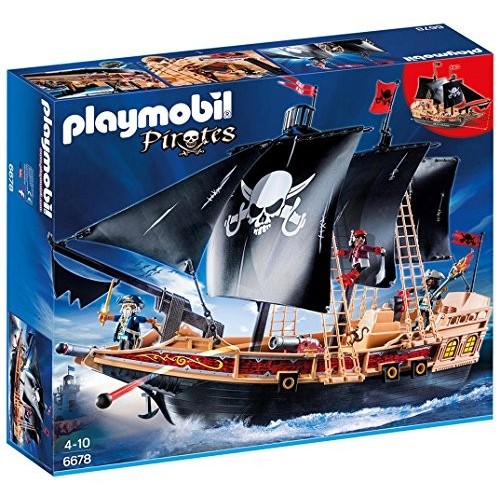 Playmobil Pirates modellino Galeone dei Pirati