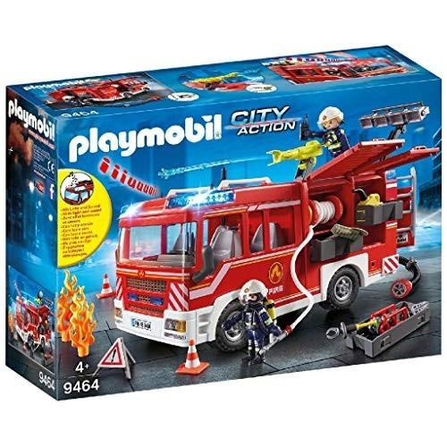 Playmobil modellino Autopompa dei Vigili del Fuoco, serie City Action