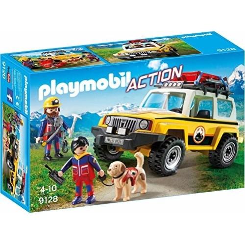 Modellino auto Jeep Soccorso Alpino - Playmobil