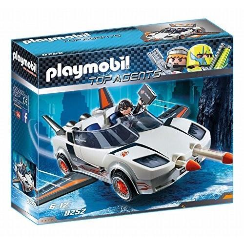 Veicolo spia con agente - Playmobil Top Agents