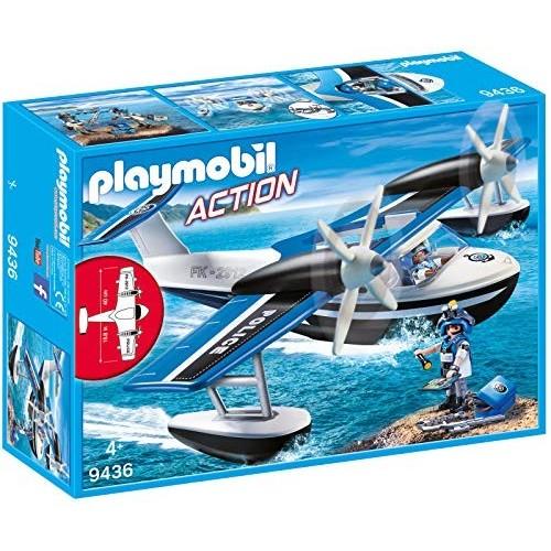 Giocattolo idrovolante della Polizia Playmobil