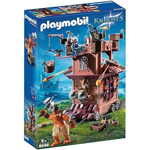 Fortezza mobile dei guerrieri - Playmobil Knights