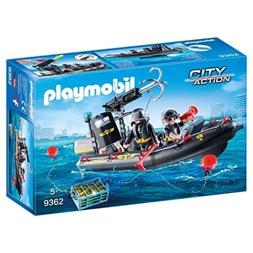 Gommone unità speciale con refurtiva - Playmobil City Action