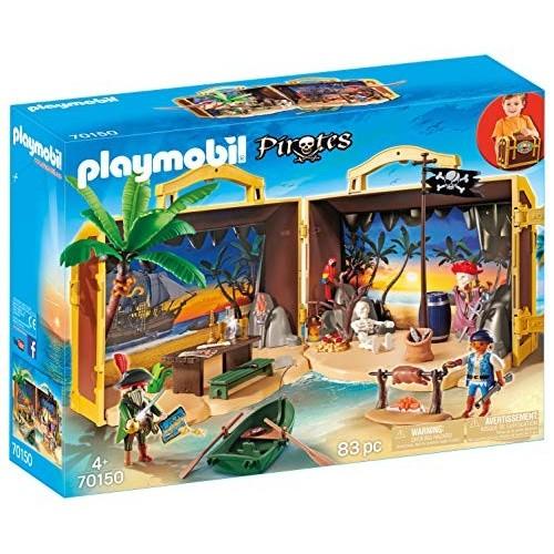 Gioco Playmobil - Isola dei Pirati portatile