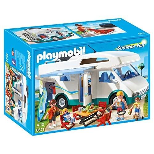 Gioco Playmobil - Camper Di Villeggianti