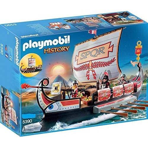Gioco Playmobil History Galea Romana con Rostro