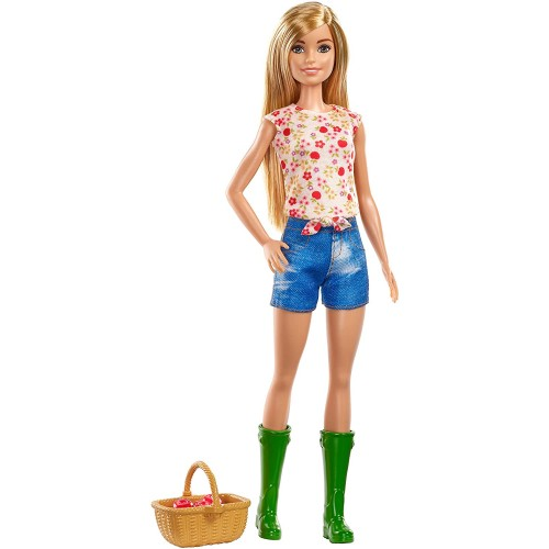 Bambola Barbie contadina con accessori - Mattel