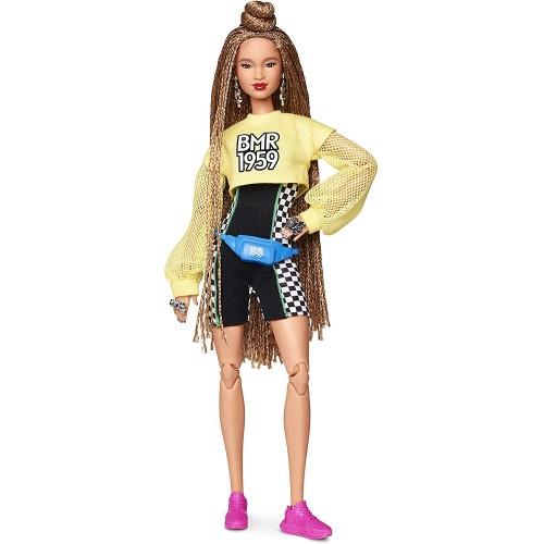 Bambola Barbie con chignon e Look Sportivo, streetwear