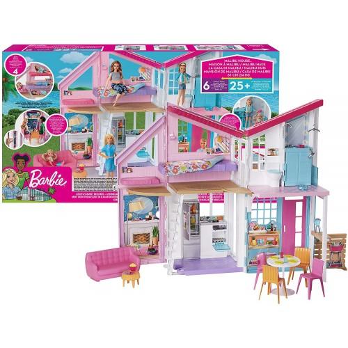 La Nuova Casa di Malibu di Barbie, playset con accessori, da 60 cm