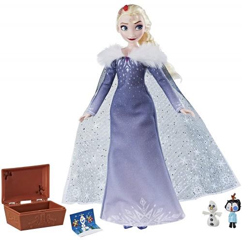 Bambola Elsa con Scrigno del tesoro | Disney Frozen - Hasbro
