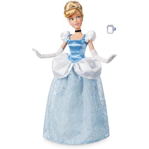 Bambola Cenerentola con Anello - Disney Principesse Scintillanti