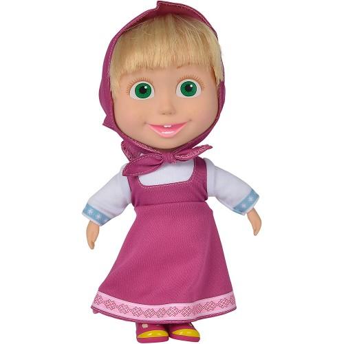 Bambola Masha - Masha e Orso, altezza 23 cm