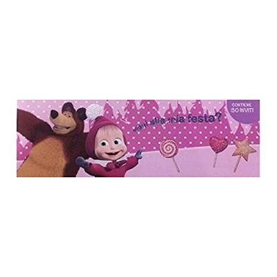 Inviti compleanno Masha e Orso