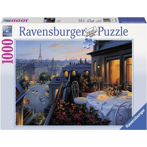 Puzzle Balcone a Parigi da 1000 Pezzi - Ravensburger