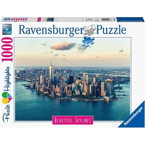 Puzzle New York city da 1000 pezzi, Ravensburger per adulti