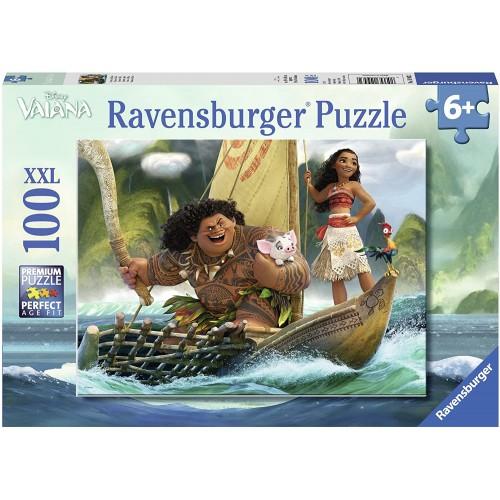 Puzzle Vaiana, Oceania Disney da 100pz - Ravensburger
