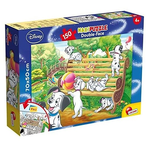 Puzzle Carica 101 Puzzle con retro da colorare 150 pezzi
