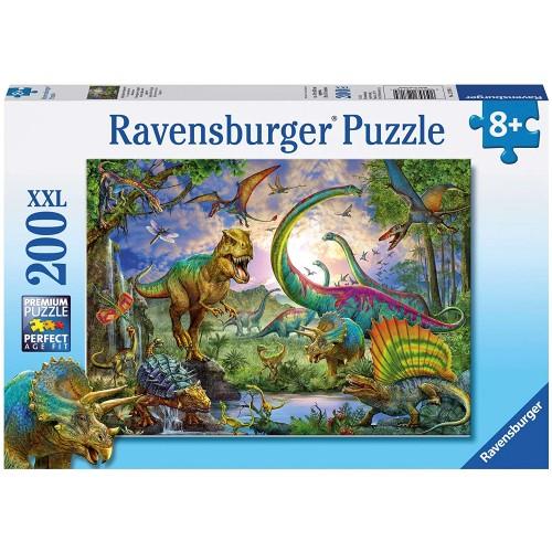 Puzzle Dinosauri da 200 Pezzi - Ravensburger