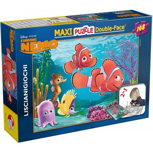 Puzzle maxi Nemo Disney da 108 pezzi, double face
