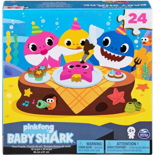 Puzzle Baby Shark da 24 Pezzi, idea regalo per bambini