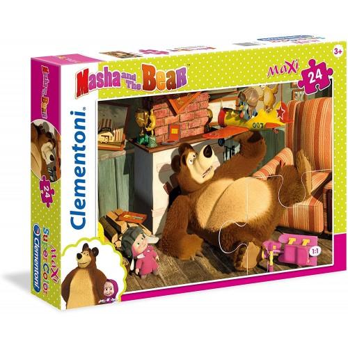 Puzzle Masha e Orso con  24 Pezzi - Clementoni