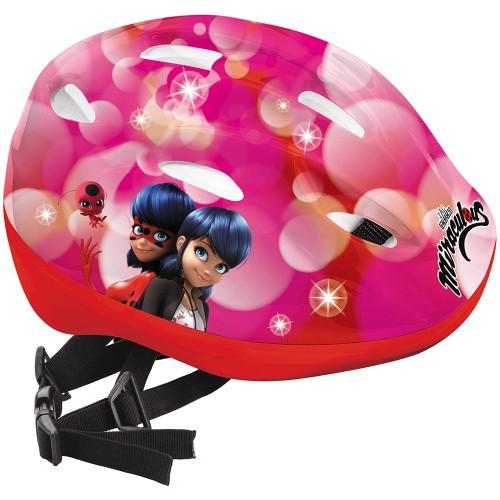 Casco bici Ladybug Miracolous per bambine, resistente e sicuro