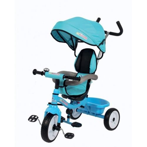 Triciclo passeggino colibrino colore Blu