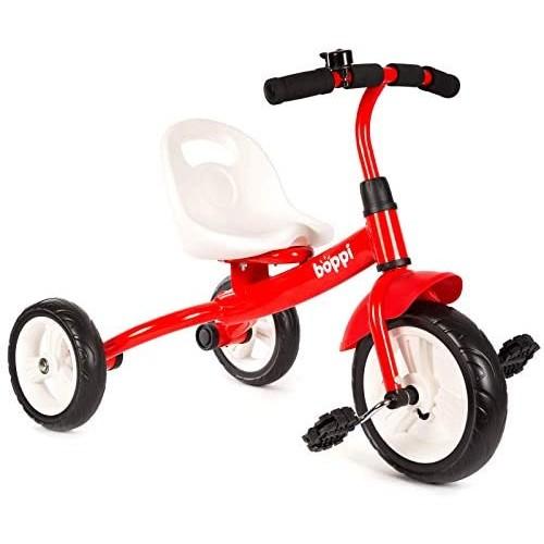 Triciclo rosso a Pedali per bambino - Boppi