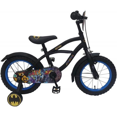 Bicicletta Batman 14 Pollici con rotelle