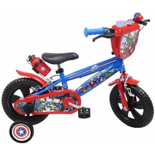 Bicicletta Avengers da 12 pollici - Marvel, in acciaio