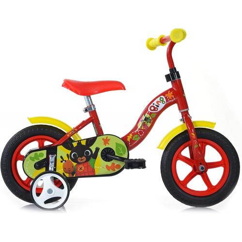 Bicicletta Bing da 10 pollici con rotelle - Eva
