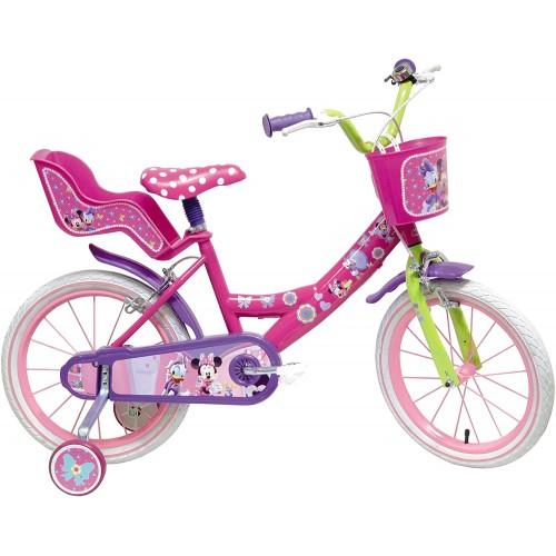 Bicicletta Minnie Disney da 14 pollici, per bambine