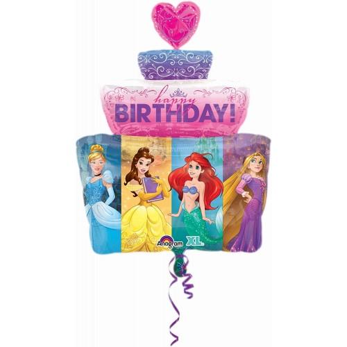 Foil Principesse Disney Happy Birthday