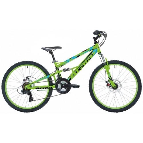 Bicicletta Sniper MTB Atala da 20 pollici, colore verde-nero