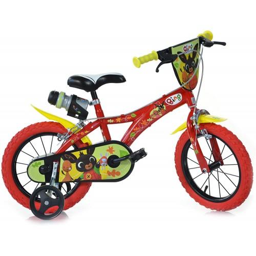 Bicicletta per bambino Bing da 14 pollici- Dino Bikes
