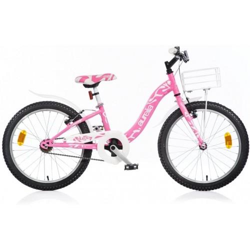 Bicicletta Aurelia Smarty da 20 Pollici Fucsia - Dino Bikes