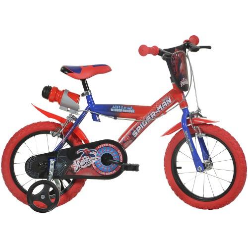 Bicicletta Spiderman 14 pollici per bambini
