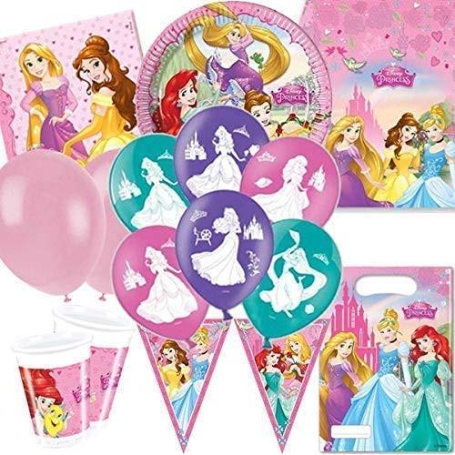 kit compleanno 16 persone Principesse Disney