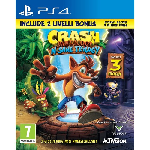 Crash Bandicoot N.Sane Trilogy per PS4